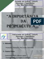 AULA DE MÉTODOS PROPEDÊUTICOS PARA TURMA DE ENFERMAGEM 2010.2 - Cópia