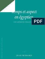 Temps et aspect en égyptien. Une approche Sémantique