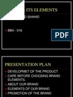 Brand & Its Elements