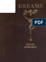Bergson, Henri, Dreams