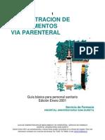 AdministraciÓn de Medicamentos via Parenteral