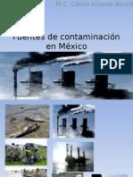 Presentación Contaminantes en México