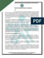 SISTEMAS DE GESTION DE LA CALIDAD II PARTE