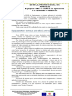 Equipamentos e sistemas aplicados à actividade comercial