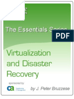 Virtualization and Disaster Recovery