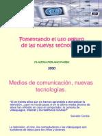 Foment an Do Uso Seguro de Las Tecno Claudia 2