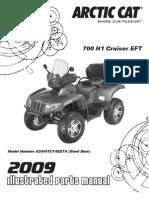 700 H1 EFI Cruiser EFT PM Street Legal MY09