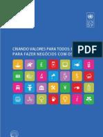 Criando valores para todos - Estratégias para fazer negócios com os pobres PNUD, 2008