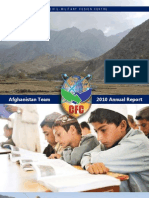 CFC - Afghanistan Annual Report 2010