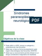 SíndromesParaneoplásicosNeurológicos