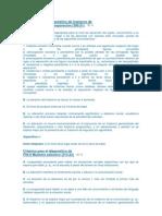 Criterios para el diagnóstico de trastorno de