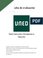 1ºPrueba de evaluación de IIOEducativa