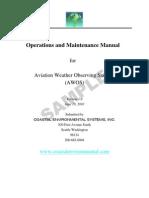 AWOS Sample Manual