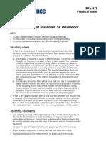 Jc Aqa Gcse 232 p1a1 3 Pcttn Testing Insulators
