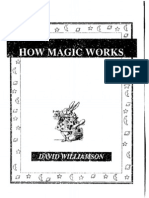 David Williamson - How Magic Works