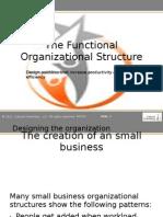 The Organizational Structure-Presentatie
