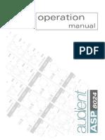 Audient ASP 8024 Manual