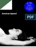 American Apparel Catalogue