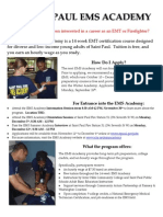 Ems Academy Flyer Winter 2012