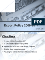 Export Policy