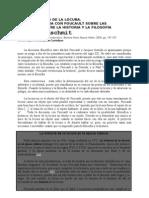 Goldschmit - Polémica Foucault Derrida