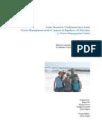 TM5 Infrastructure Final Report