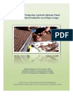 Informe Agricola Finale