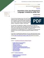Java Programming Language Basics