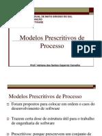 Modelos Prescritivos de Processo Parte I