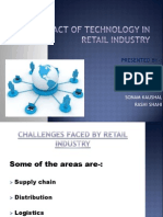 Impact of Technology in Retail Industry