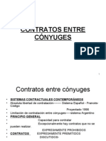 contratos entre conyuges
