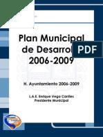 Plan Municipal de Desarrollo 2006 2009