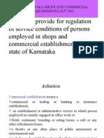 Shops and Commercial Establishments
