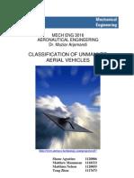 clasificacion uav