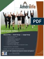 Seminar List 2011