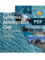 2007 California Administrative Code