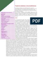 Trastornos Debidos a Inmunodeficiencia