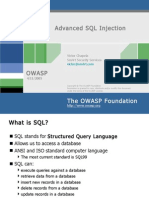 Advanced SQL Injection(2)