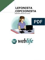 Apostila - Telefonista e Recepcionista