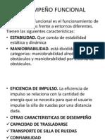 DESEMPEÑO FUNCIONAL