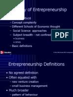 Ch.1 the Study of Entrepreneurship