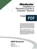 Installation of Waukesha Engines and Enginator Systems