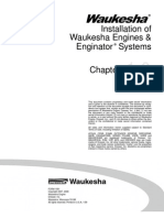 Installation of Waukesha Engines and Enginator Systems
