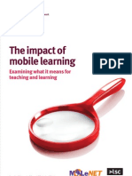 2010 The impact of mobile learning_Examining what it means for teaching and learning