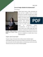 Adriana Cisneros entrevista en El País