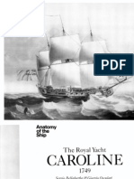 [Anatomy of the Ship] - The Royal Yacht Caroline 1749