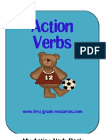 My Action Verb Book