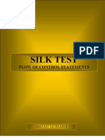 Flow of Control Statements