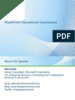 8154.SharePoint Operational Governance