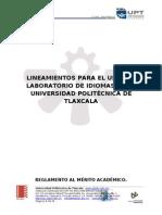 Lineamientos de Uso de Lab Oratorio de Idiomas.